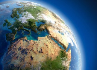 Земля расширяется
