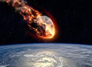 Столкновения Земли с метеоритами