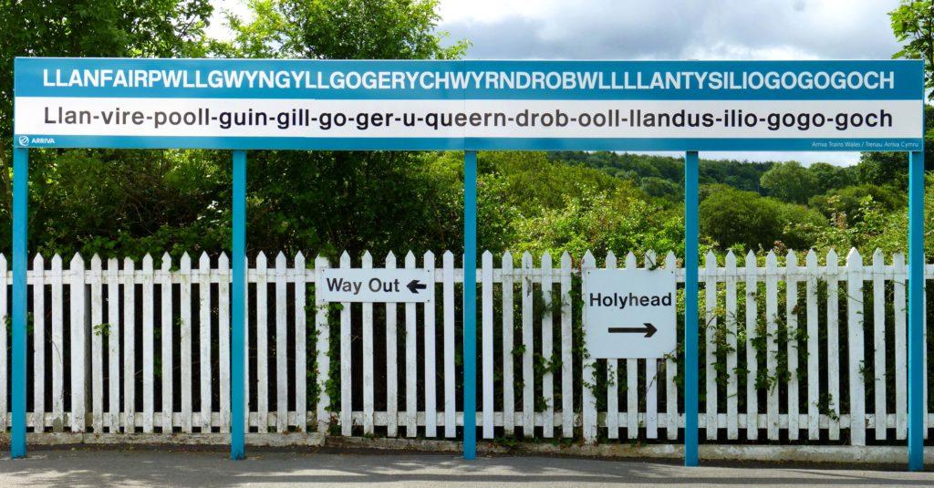 Знаменитый знак с самым длинным названием деревни
