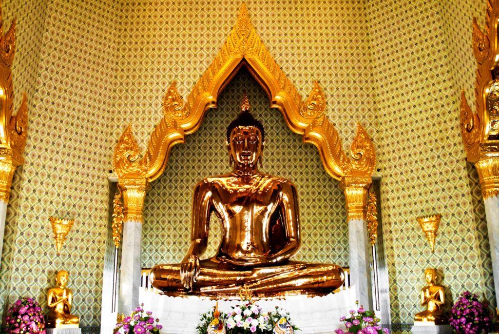 Золотой Будда - самая большая золотая статуя в мире (Бангкок)