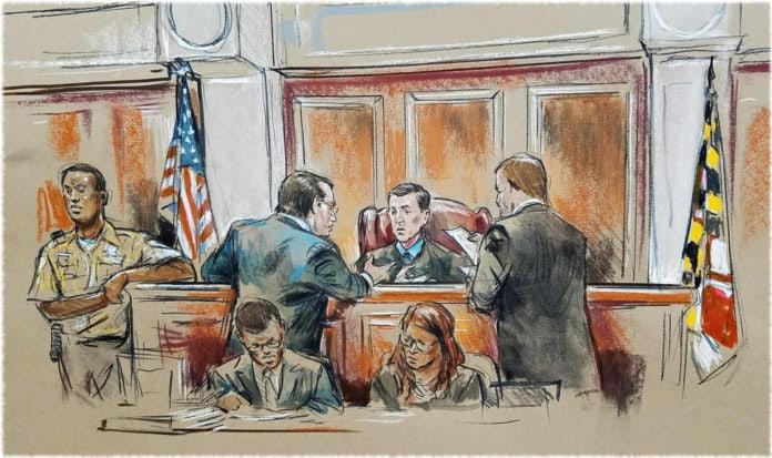 Почему с заседаний американских судов нет фотографий, а есть зарисовки?
